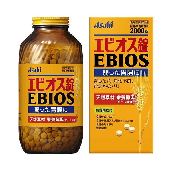 [아사히] 에비오스 EBIOS (600정/1200정/2000정)