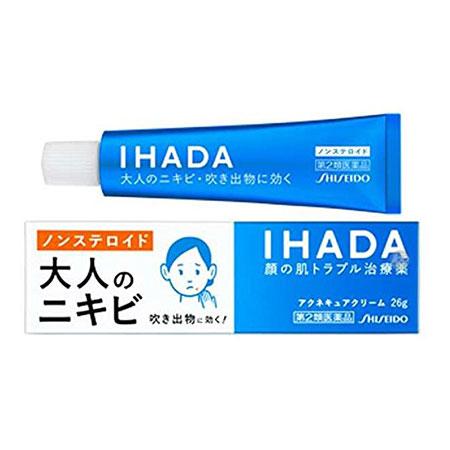[시세이도 이하다] IHADA 성인 여드름 치료 크림 26g