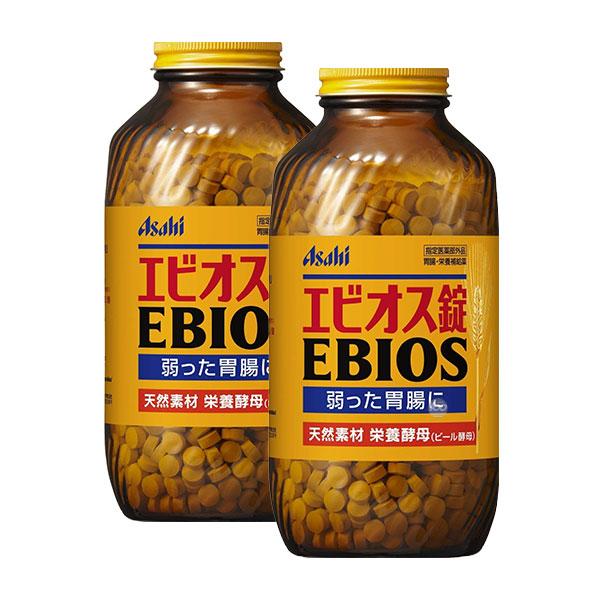 [아사히] 에비오스 EBIOS 600정 * 2병 세트