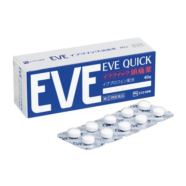 [에스에스 제약] EVE QUICK 이브 퀵 일본두통약 이브퀵 (20정/40정)