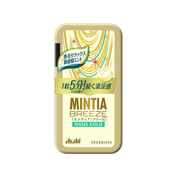 [ASAHI] MINTIA BREEZE 민티아 브리즈 오아시스 골드