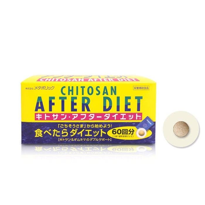 [Metabolic]키토산 애프터 다이어트 (6알 x 60포)