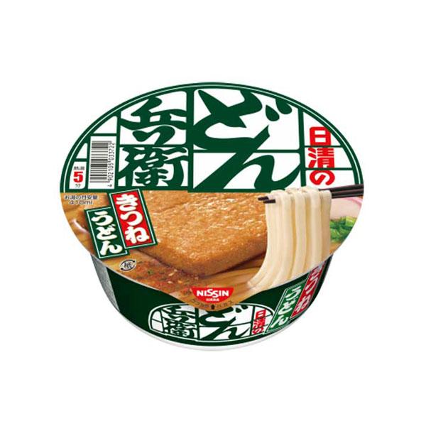 [닛신] 돈베이 유부우동 키츠네우동 12개 셋트