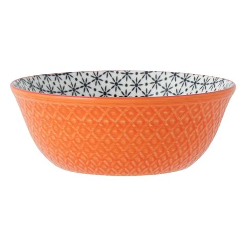 다양한 접시 그릇 꽃 오렌지 x 블랙