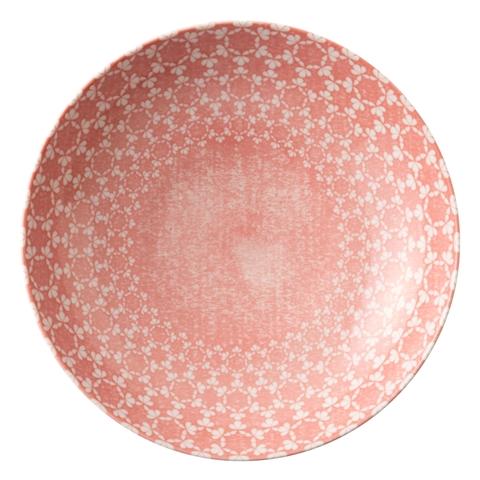 미노 도자기 그릇 꽃