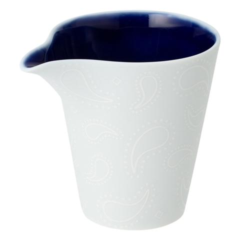 미노 도자기 백자 片口 컵 페이즐리