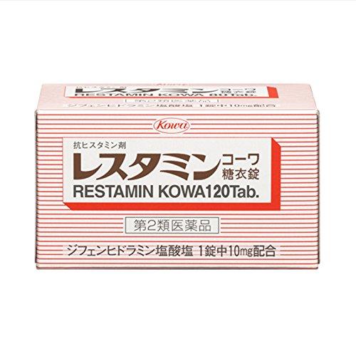 [코와제약] 레스타민 코와