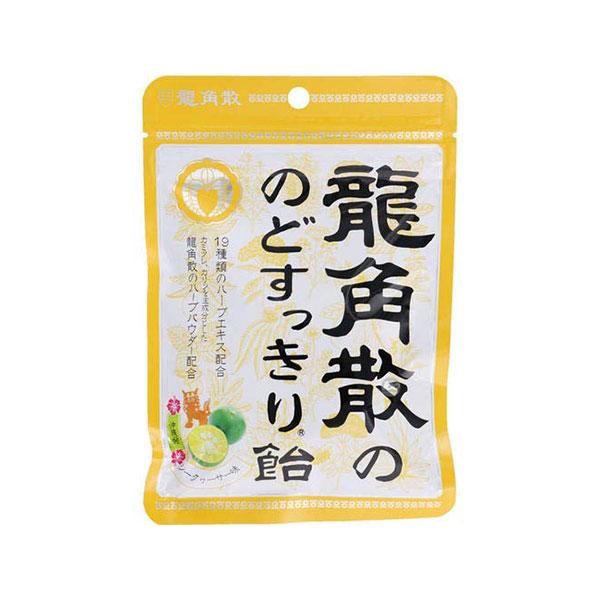 [용각산] 용각산캔디 88g 오키나와산 시크와사 맛